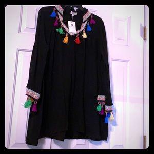 Colorful Boho Tunic. Large